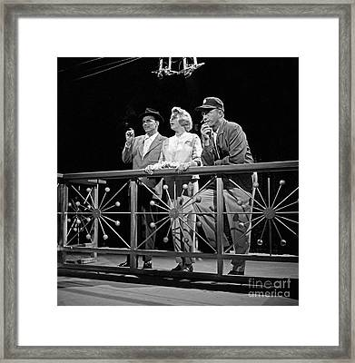 The Edsel Show Framed Print by Cbs Photo Archive