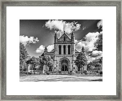 Belfast Cathedral, St. Anne's Framed Print
