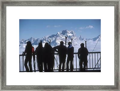 Cortina Dampezzo Framed Print by Slim Aarons