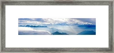 Landscapes In China Framed Print by 4x-image