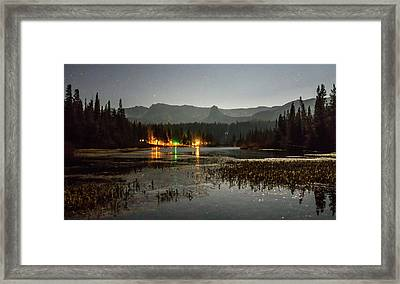 Framed Print featuring the photograph Sierra National Park Mountains Near Mammoth Lakes Californit by Alex Grichenko