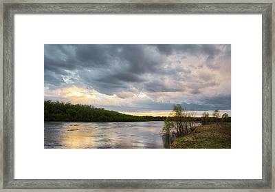 Framed Print featuring the photograph A Bit Of Gold. Horytsya, 2018. by Andriy Maykovskyi