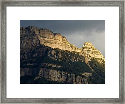 Framed Print featuring the photograph A Blast Of Light by Stephen Taylor