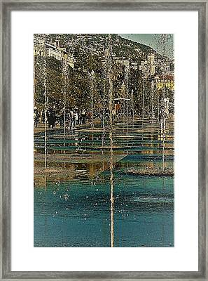 A Day In Nice Framed Print