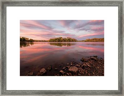 Framed Print featuring the photograph A Display Of Color by Scott Bean