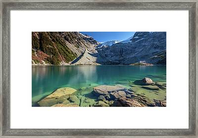 Framed Print featuring the photograph A Gem In The Mountains by Pierre Leclerc Photography