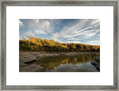 Framed Print featuring the photograph A Hint Of Fall by Scott Bean