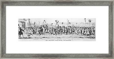 A History Of New York Framed Print by Fotosearch