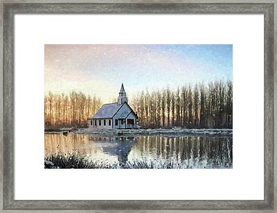 A Kind Heart - Hope Valley Art Framed Print