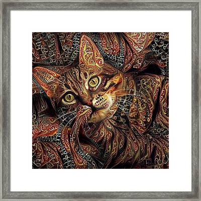 A Little Cinnamon Framed Print