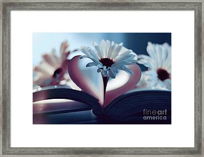 A Little Love And Light In Your Heart Framed Print