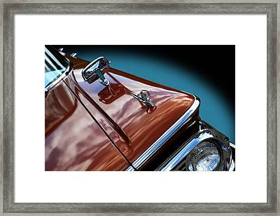 Framed Print featuring the photograph A New Slant On An Old Vehicle - 1959 Edsel Corsair by Debi Dalio