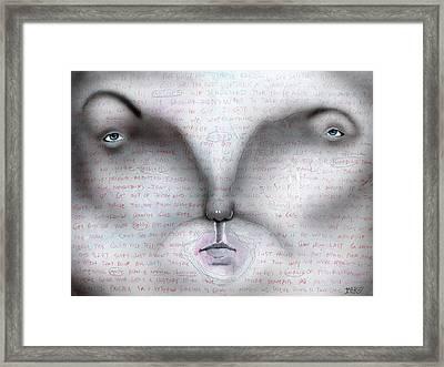 A Normal Homicide Framed Print