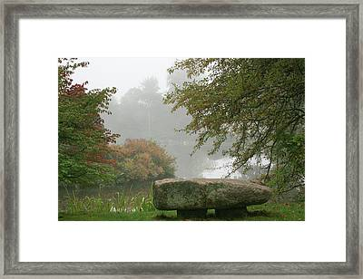 A Place Of Serenity Framed Print