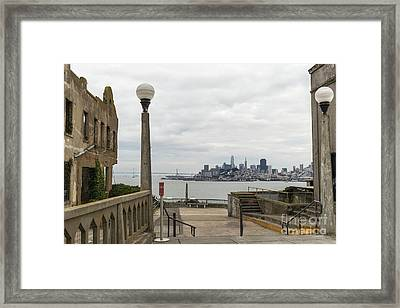 A Prison With A View Framed Print