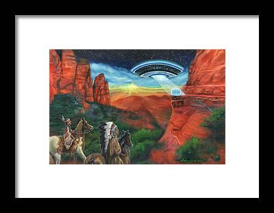 Galactic Beings Art | Fine Art America