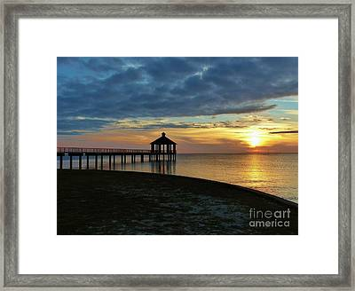 Framed Print featuring the photograph A Sense Of Place by Rosanne Licciardi