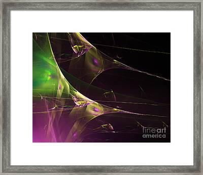 A Space Aurora Framed Print