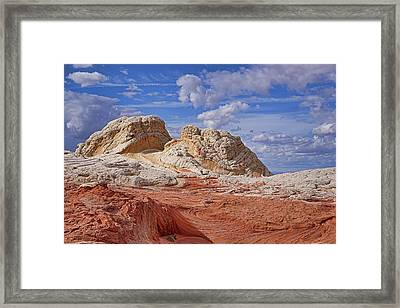 Framed Print featuring the photograph A Strange View by Theo O'Connor