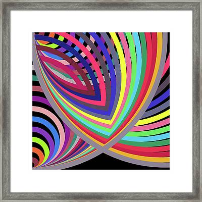 A To Z By 2 Top Left Framed Print