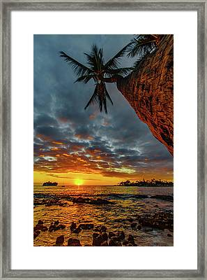 A Typical Wednesday Sunset Framed Print