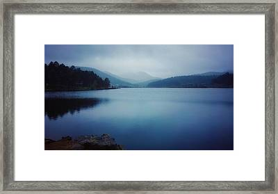 Framed Print featuring the photograph A Washed Landscape by Dan Miller