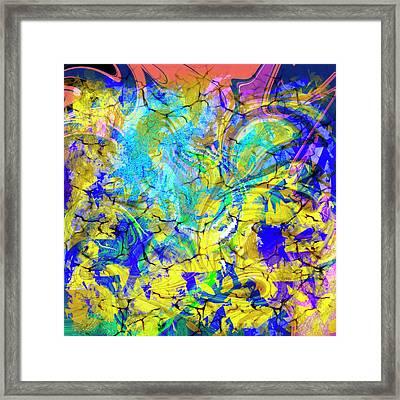 Abs Art 10november2018 Framed Print