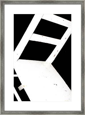 Abstract 1 / The Chair Project Framed Print