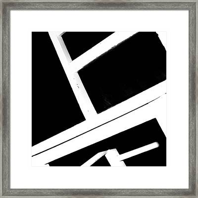 Abstract 2 / The Chair Project Framed Print