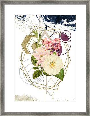 Framed Print featuring the digital art Abstract Dream by Bee-Bee Deigner