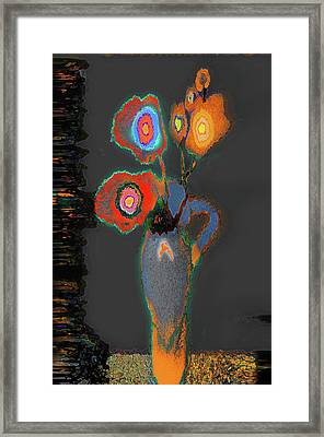 Abstract Floral Art 367 Framed Print
