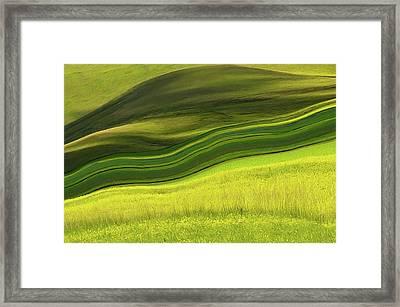 Abstract Landscape Framed Print by Edoardogobattoni.net