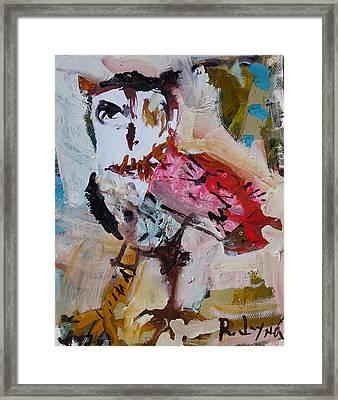 Abstract Owl Artwork Framed Print