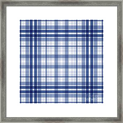 Abstract Squares And Lines Background - Dde611 Framed Print