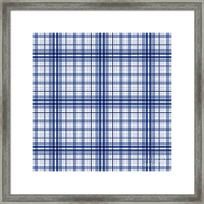 Abstract Squares And Lines Background - Dde613 Framed Print
