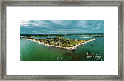 Framed Print featuring the photograph Acoaxet Life, Westport by Michael Hughes