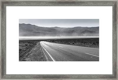 Across The Flats Framed Print