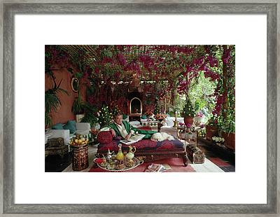 Adolfo De Velasco Framed Print by Slim Aarons