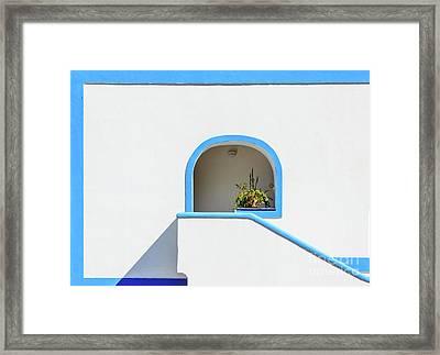 Aeolian Geometry Framed Print