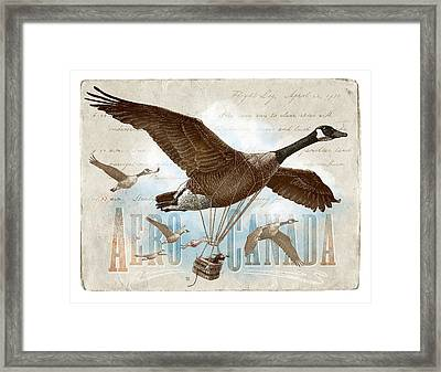 Aero Canada Framed Print