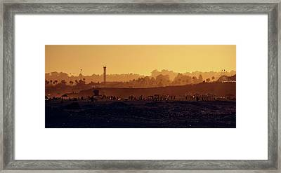 Framed Print featuring the photograph After The Apocalypse by Quality HDR Photography