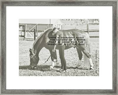 After The Competition Quote Framed Print