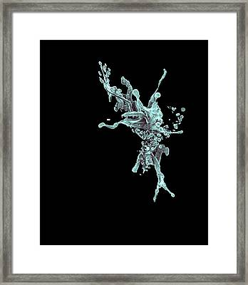 Aftermath Of Cancer Cell Apoptosis Framed Print by Coneyl Jay