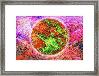 Agony And Ecstasy Framed Print