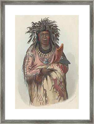 Ah-quee-we-zaints Framed Print by Hulton Archive