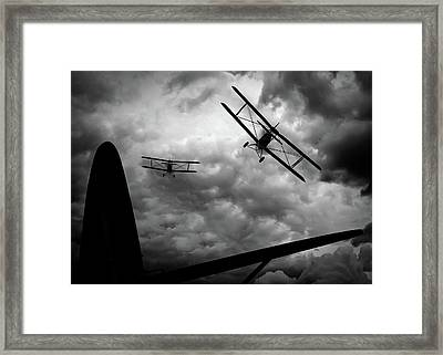 Air Pursuit Framed Print