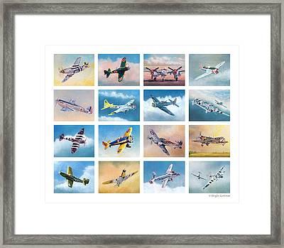 Airplane Poster Framed Print