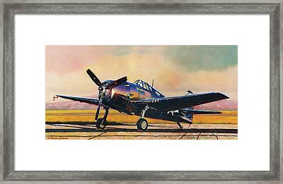 Airshow Hellcat Framed Print