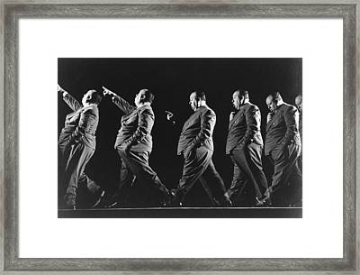 Alfred Hitchcock Framed Print by Gjon Mili