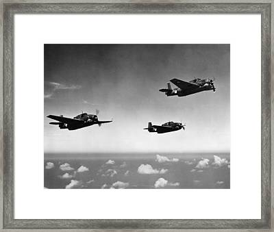 All Purpose Bomber Framed Print by Hulton Archive